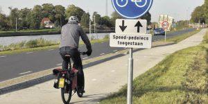 Hoort een Speed-pedelec op de weg of het fietspad?